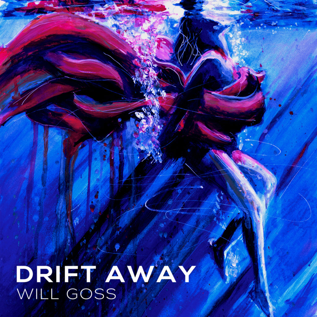 "The cover of my new single ""Drift Away"""